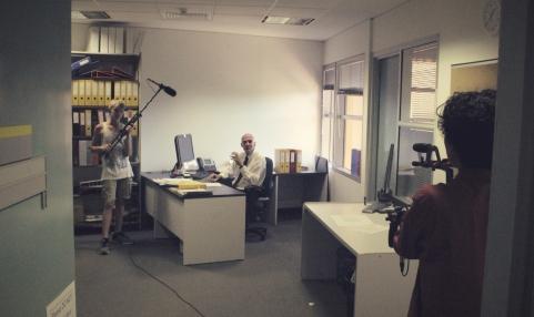 Office scenes with Memax