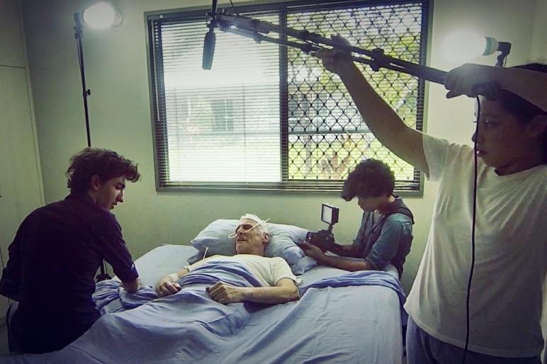 Filming Charles Passing away