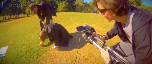Thomas enjoys filming a good fit