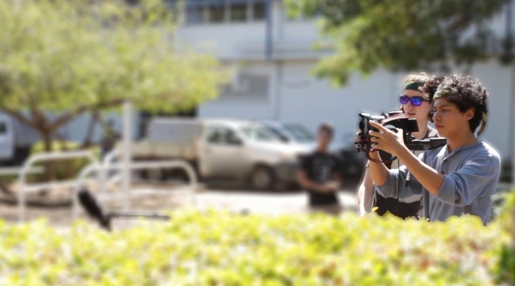 Nat Thomas Filming