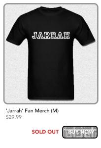 jarrah merch m