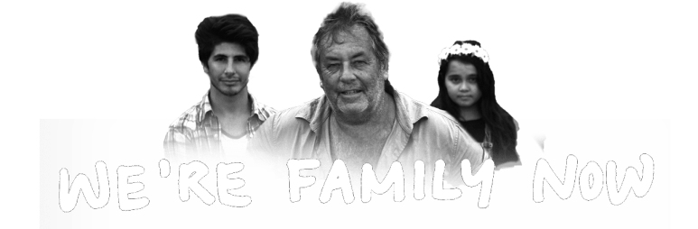we're family header trans